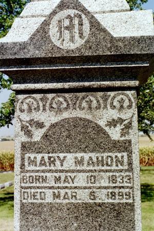 MAHON, MARY - Clinton County, Iowa | MARY MAHON