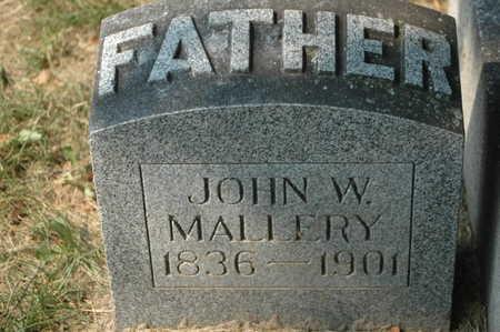 MALLERY, JOHN W. - Clinton County, Iowa | JOHN W. MALLERY