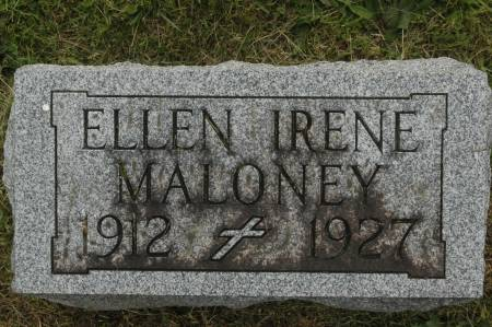 MALONEY, ELLEN IRENE - Clinton County, Iowa | ELLEN IRENE MALONEY