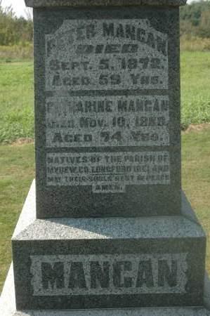MANGAN, CATHARINE - Clinton County, Iowa | CATHARINE MANGAN