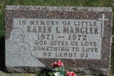 MANGLER, KAREN L. - Clinton County, Iowa   KAREN L. MANGLER