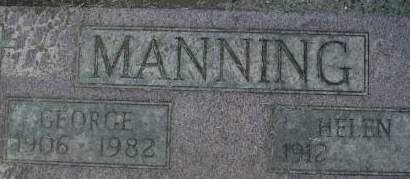 MANNING, GEORGE - Clinton County, Iowa | GEORGE MANNING