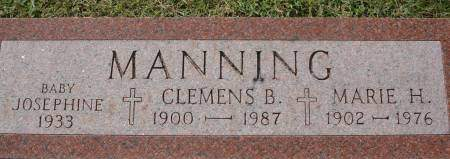 MANNING, MARIE H. - Clinton County, Iowa | MARIE H. MANNING