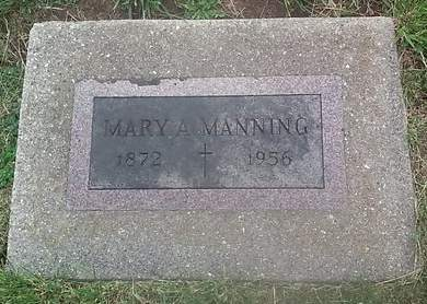 MANNING, MARY A. - Clinton County, Iowa | MARY A. MANNING