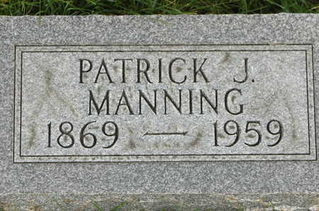 MANNING, PATRICK J. - Clinton County, Iowa | PATRICK J. MANNING