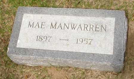 MANWARREN, MAE - Clinton County, Iowa | MAE MANWARREN
