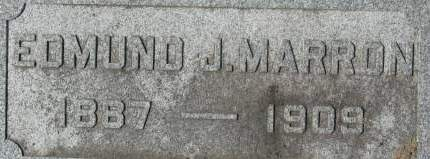 MARRON, EDMUND J. - Clinton County, Iowa   EDMUND J. MARRON
