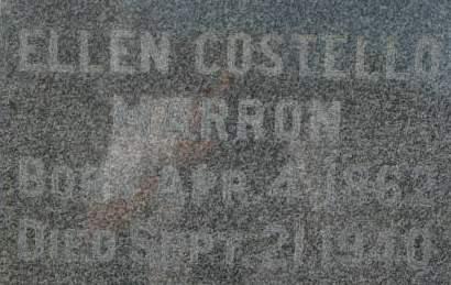 COSTELLO MARRON, ELLEN - Clinton County, Iowa | ELLEN COSTELLO MARRON