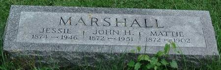 MARSHALL, JESSIE, JAMES, MATTIE - Clinton County, Iowa | JESSIE, JAMES, MATTIE MARSHALL
