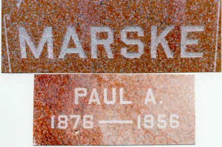 MARSKE, PAUL - Clinton County, Iowa | PAUL MARSKE