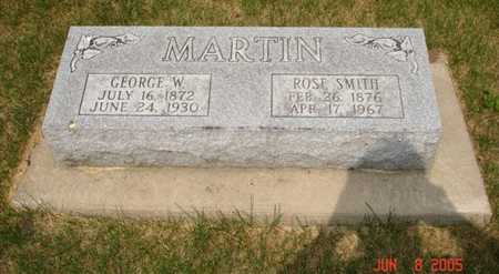 MARTIN, GEORGE W. - Clinton County, Iowa | GEORGE W. MARTIN