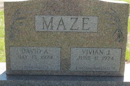 MAZE, DAVID A. - Clinton County, Iowa | DAVID A. MAZE