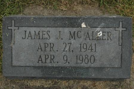 MCALEER, JAMES J. - Clinton County, Iowa   JAMES J. MCALEER