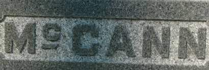 MCCANN, FAMILY MONUMENT - Clinton County, Iowa | FAMILY MONUMENT MCCANN