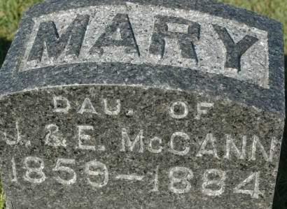 MCCANN, MARY - Clinton County, Iowa | MARY MCCANN