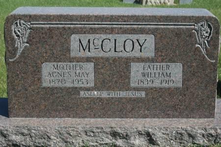 MCCLOY, WILLIAM - Clinton County, Iowa | WILLIAM MCCLOY