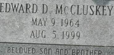 MCCLUSKEY, EDWARD D. - Clinton County, Iowa | EDWARD D. MCCLUSKEY