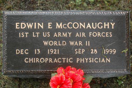 MCCONAUGHY, EDWIN E. - Clinton County, Iowa | EDWIN E. MCCONAUGHY