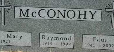 MCCONOHY, RAYMOND - Clinton County, Iowa | RAYMOND MCCONOHY