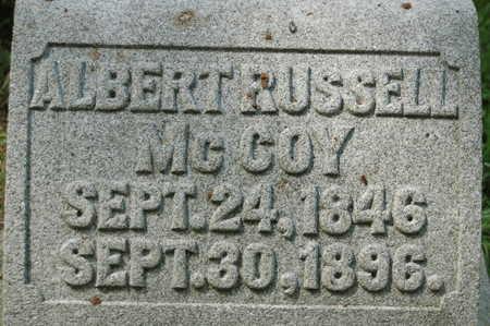 MCCOY, ALBERT RUSSELL - Clinton County, Iowa | ALBERT RUSSELL MCCOY