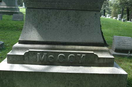 MCCOY, MONUMENT - Clinton County, Iowa | MONUMENT MCCOY