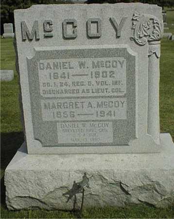 MCCOY, MARGRET A. - Clinton County, Iowa | MARGRET A. MCCOY