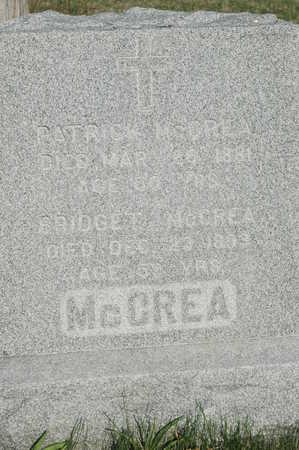 MCCREA, PATRICK - Clinton County, Iowa   PATRICK MCCREA