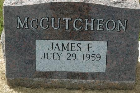MCCUTCHEON, JAMES F. - Clinton County, Iowa | JAMES F. MCCUTCHEON