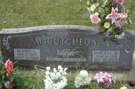 MCCUTCHEON, DARLENE M. - Clinton County, Iowa   DARLENE M. MCCUTCHEON