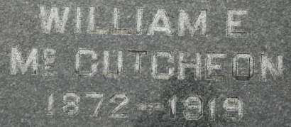 MCCUTCHEON, WILLIAM E. - Clinton County, Iowa | WILLIAM E. MCCUTCHEON