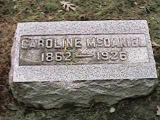 MCDANIEL, CAROLINE - Clinton County, Iowa | CAROLINE MCDANIEL