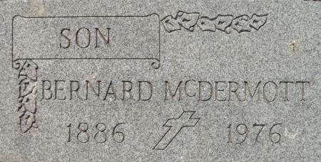 MCDERMOTT, BERNARD - Clinton County, Iowa   BERNARD MCDERMOTT