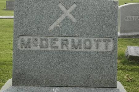 MCDERMOTT, FAMILY MONUMENT - Clinton County, Iowa | FAMILY MONUMENT MCDERMOTT