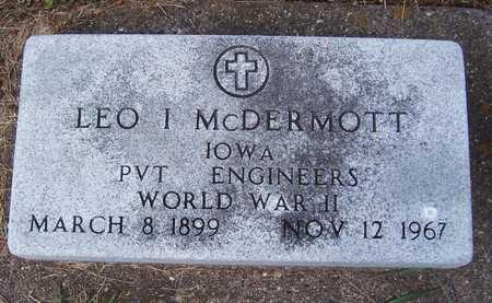 MCDERMOTT, LEO I. - Clinton County, Iowa | LEO I. MCDERMOTT