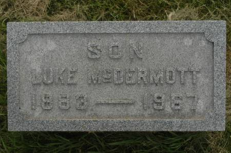 MCDERMOTT, LUKE - Clinton County, Iowa   LUKE MCDERMOTT