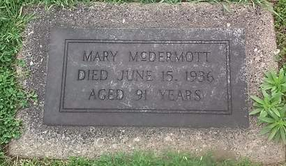 MCDERMOTT, MARY - Clinton County, Iowa | MARY MCDERMOTT