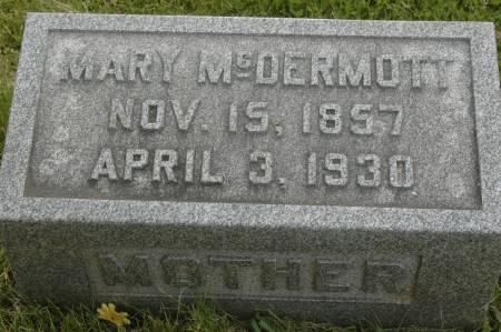 MCDERMOTT, MARY - Clinton County, Iowa   MARY MCDERMOTT