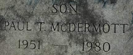 MCDERMOTT, PAUL T. - Clinton County, Iowa | PAUL T. MCDERMOTT