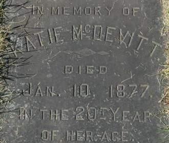 MCDEVITT, KATIE - Clinton County, Iowa | KATIE MCDEVITT