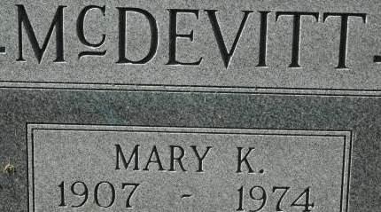 MCDEVITT, MARY K. - Clinton County, Iowa | MARY K. MCDEVITT