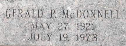 MCDONNELL, GERALD P. - Clinton County, Iowa | GERALD P. MCDONNELL