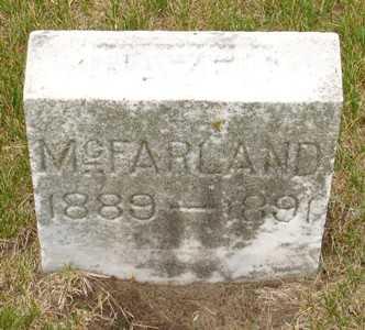 MCFARLAND, HAZEL - Clinton County, Iowa   HAZEL MCFARLAND