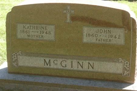 MCGINN, KATHRINE - Clinton County, Iowa   KATHRINE MCGINN