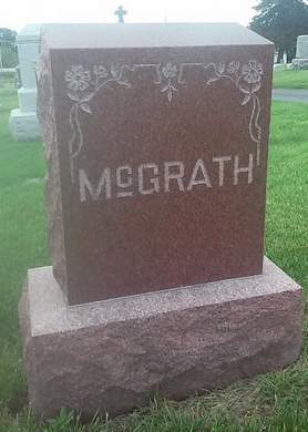 MCGRATH, FAMILY MONUMENT - Clinton County, Iowa | FAMILY MONUMENT MCGRATH