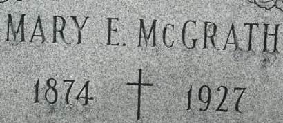 MCGRATH, MARY E. - Clinton County, Iowa   MARY E. MCGRATH