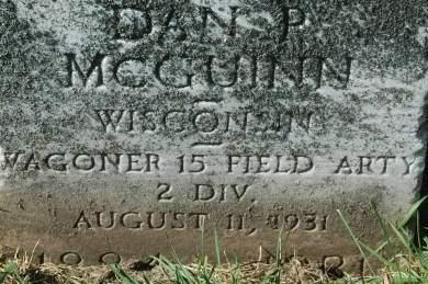 MCGUINN, DAN P. - Clinton County, Iowa | DAN P. MCGUINN
