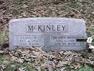 BATHER MCKINLEY, VIRGINIA - Clinton County, Iowa | VIRGINIA BATHER MCKINLEY