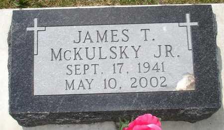 MCKLUSKY, JAMES T. JR. - Clinton County, Iowa | JAMES T. JR. MCKLUSKY