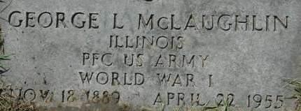 MCLAUGHLIN, GEORGE L. - Clinton County, Iowa   GEORGE L. MCLAUGHLIN