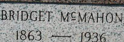 MCMAHON, BRIDGET - Clinton County, Iowa   BRIDGET MCMAHON